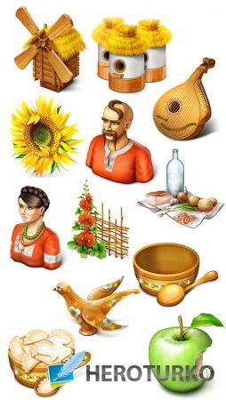 Украинские иконки