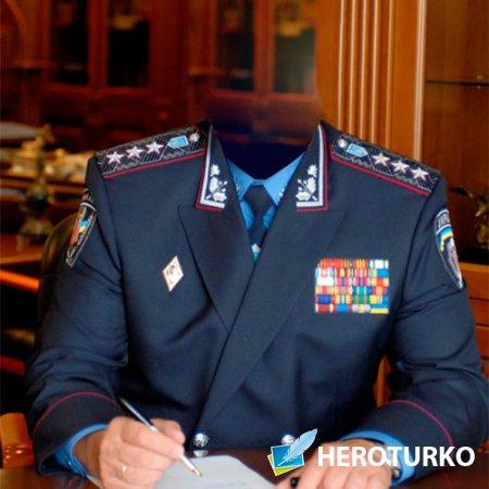 Мужской шаблон - Генерал-полковник