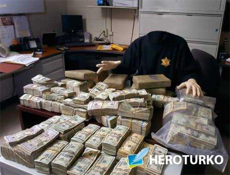 Мужской шаблон - Шериф и полно денег