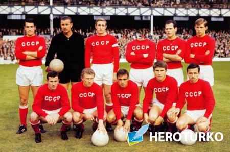 Шаблон для мужчин - Сборная страны советов по футболу
