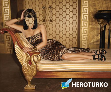 Шаблон для девушек - Клеопатра