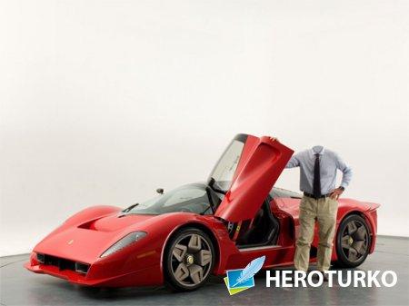 Шаблон для фотомонтажа - Владелец Ferrari