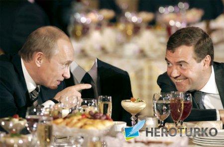 Шаблон для фото - Встреча с президентами