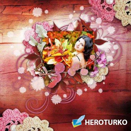 Осенний скрап-комплект - Весёлая осень
