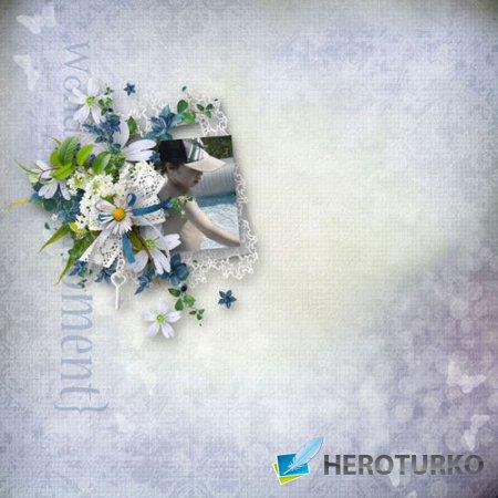 Романтический скрап-комплект - Моя страсть к шитью