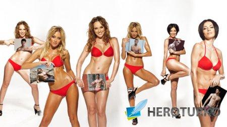 Рамка для фото - Шесть девушек с вашими фото