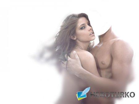 Шаблон для Photoshop - Красивая пара