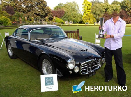Шаблон для Photoshop - Старое авто Maserati