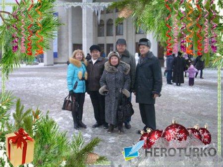 Рамочка для зимнего или Новогоднего фото