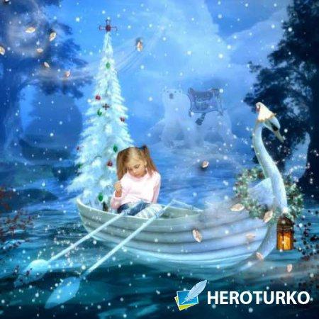 Сказочный зимний скрап-набор - Frosty And Friends