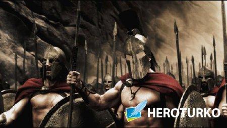 PSD шаблон для мужчин - Неустрашимый воин Спарты