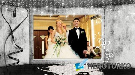 Романтический проект для ProShow Producer - Свадебная книга