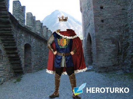 Мужской шаблон - Король в замке