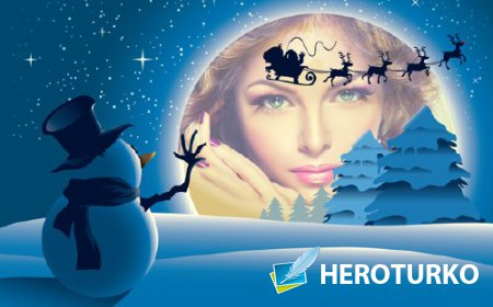 Рамка для оформления - Сказочный Новый год