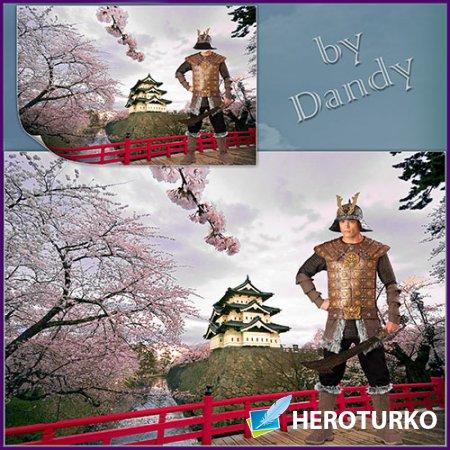Шаблон для мужчины - Японский самурай