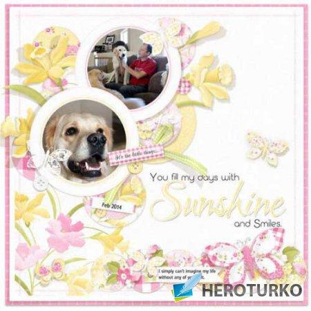 Весенний скрап-набор - Daffodil Joy
