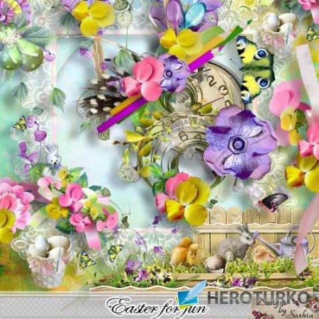 Весенний скрап-набор - Easter For Fun