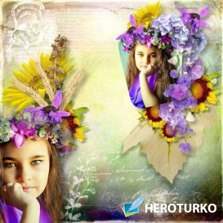 Цветочный скрап-набор - Мимолетные моменты