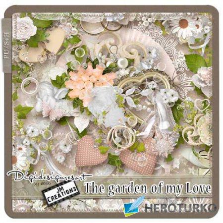 Романтический скрап-набор - Сад моей любви