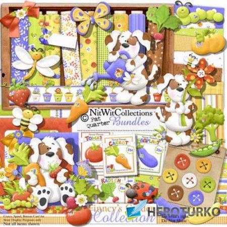 Детский скрап-набор - Finncys Garden