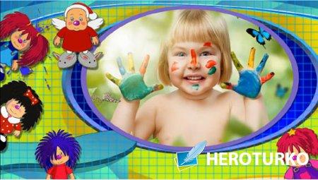 Детский проект для ProShow Producer - Барбарики