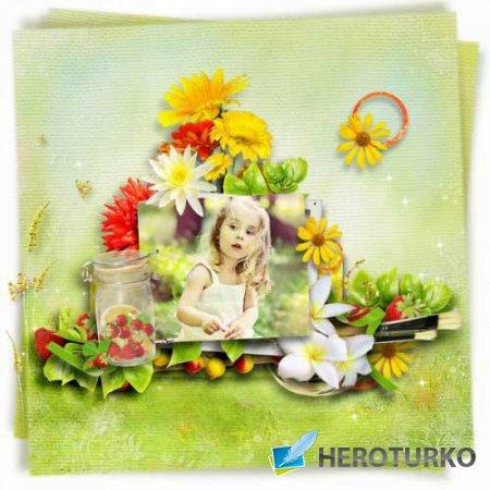Летний скрап-набор - Жаркие летние деньки