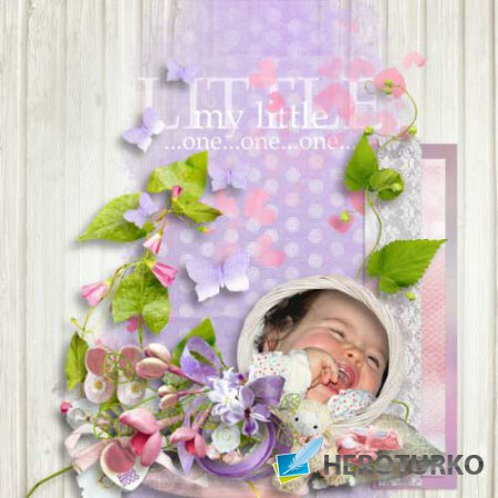 Детский скрап-набор - Элоиза