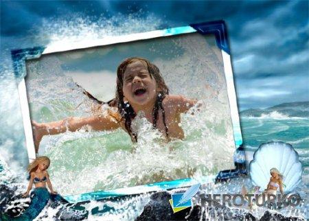 Рамка детская - На море