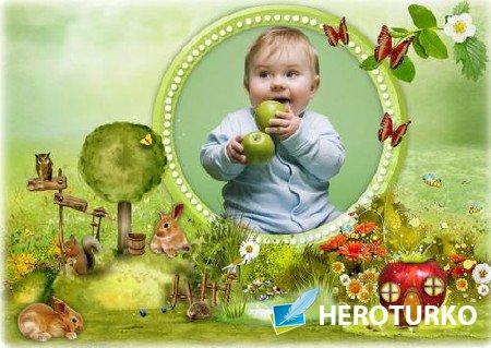 Детская рамка для фото - Окружающий мир