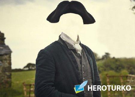 Фотошаблон - В костюме 18 века