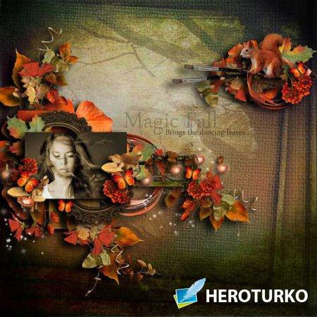 Осенний скрап-набор - Зачарованная осень