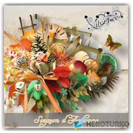 Осенний скрап-набор - Нотки осени