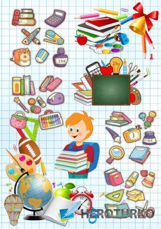 Сборка для школьного портфолио и творческих работ, 24 png. Часть 13.