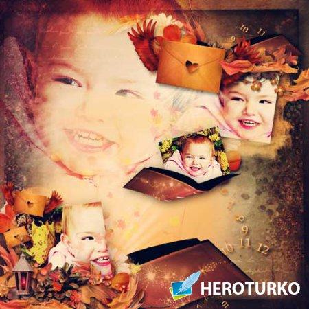 Осенний скрап-набор - Осенняя сказка