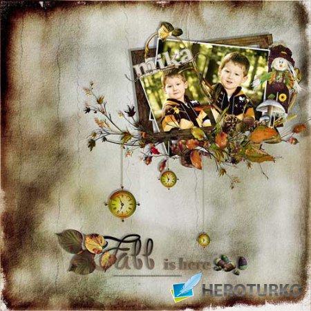 Осенний скрап-набор - Сказочная осень