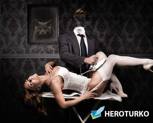 Template - Эротические пытки утюгом