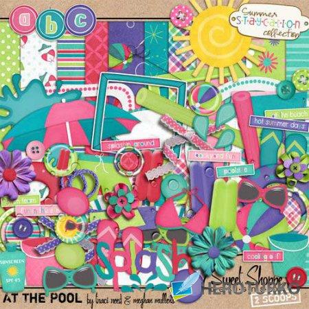 Детский скрап-набор - Летние каникулы