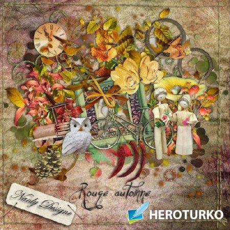Осенний румянец - Скрап детали