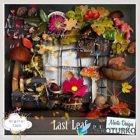Осенний дождь и листопад - Коллекция скрап - деталей