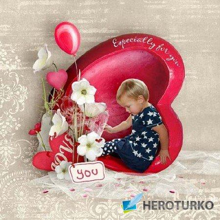 Для тебя - от всего сердца! – Скрап - детали