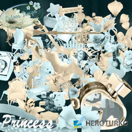 Гламурный скрап-набор - Принцесса