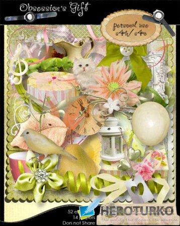 Романтический скрап-набор - Obsessions Gift