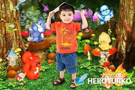Рамка детская Сказочный лес