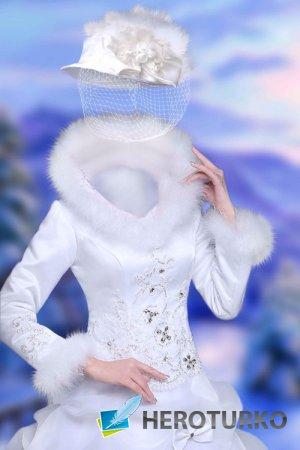 Шаблон для девушек – Белый ангел