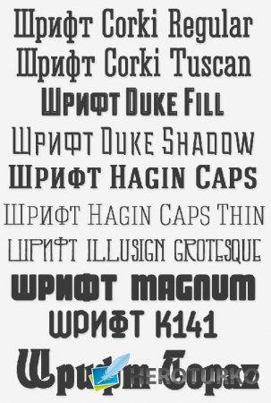 Шрифты для графических дизайнеров