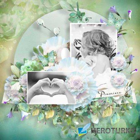 Романтический скрап-набор - Обещания