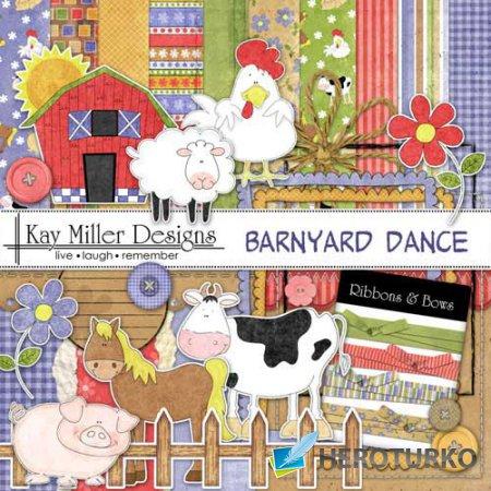 Детский скрап-набор - Barnyard Dance
