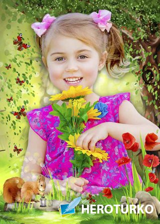 Рамка детская Лесная фея
