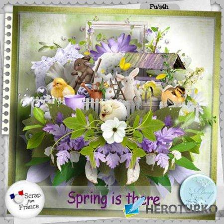 Весенний скрап-набор - Spring is there