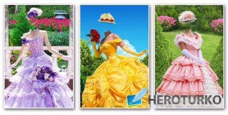 Шаблоны для фотомонтажа женские – Летние наряды